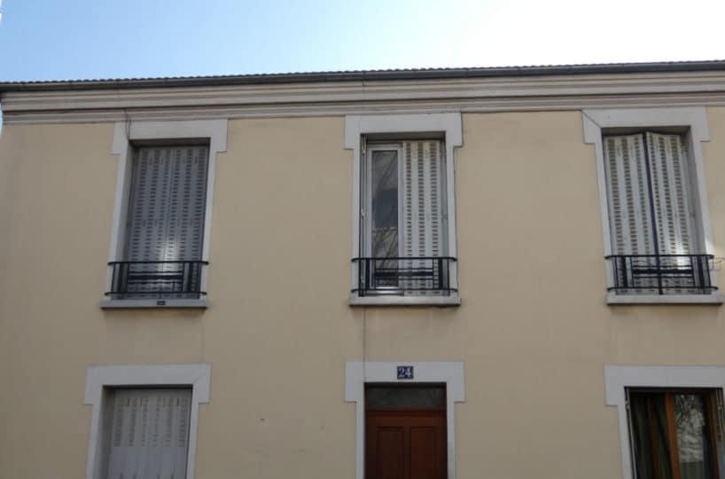 estimation appartement alfortville: 2 pièces 45 m², façade de l'immeuble secteur centre-ville