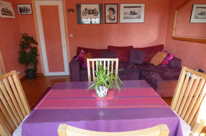 faire estimer appartement alfortville: 2 pièces 45 m², pièce à vivre lumineuse
