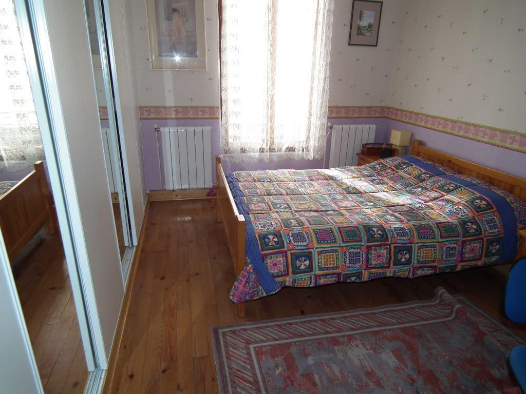 vendre appartement alfortville: 2 pièces 45 m², chambre avec lit double et placards