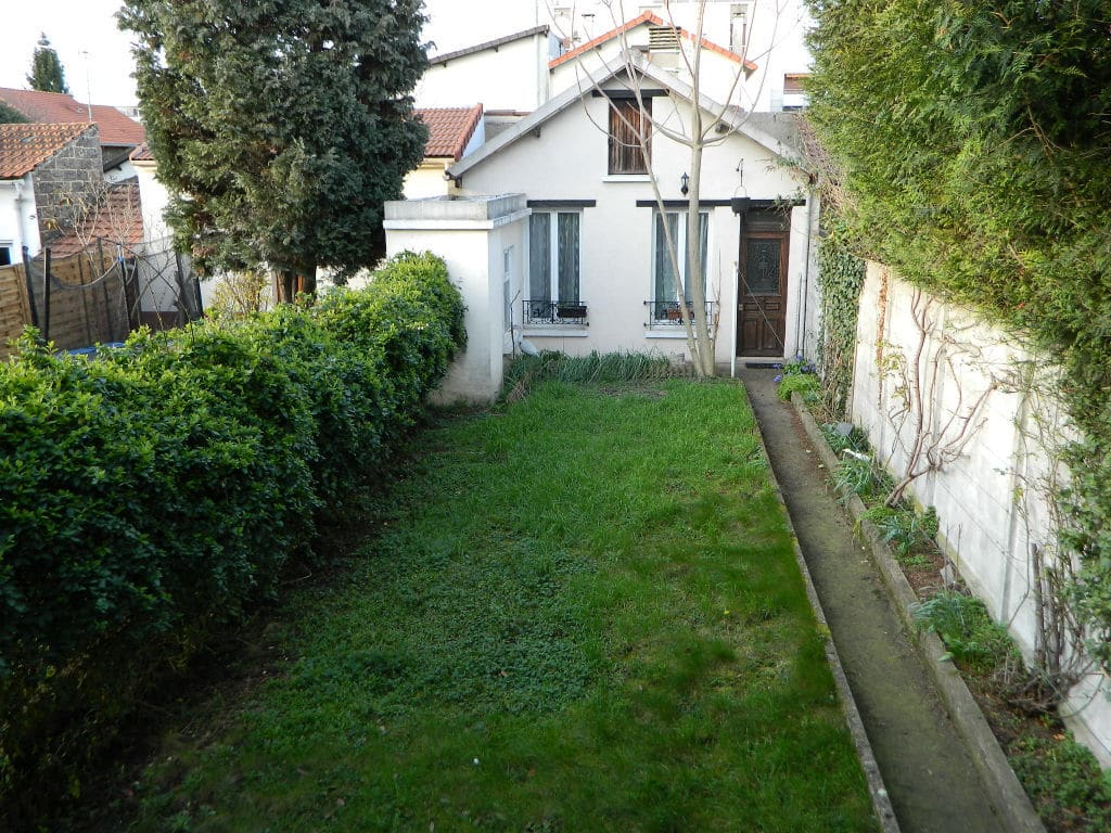 maison a vendre maison alfort: 3 pièces 60 m², grand garage, sous-sol, jardin