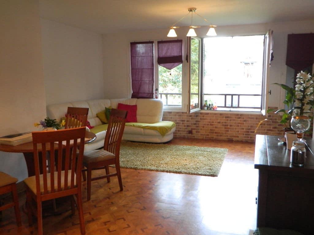 maison maisons alfort, 3 pièces 60 m² à vendre, double séjour lumineux