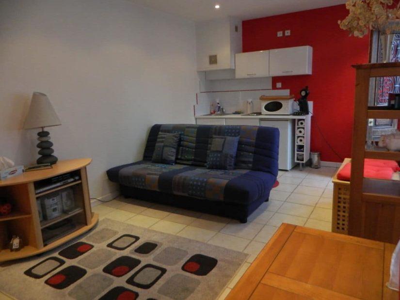 vente maison à maisons-alfort: 3 pièces 60 m², au sous-sol, pièce avec coin cuisine