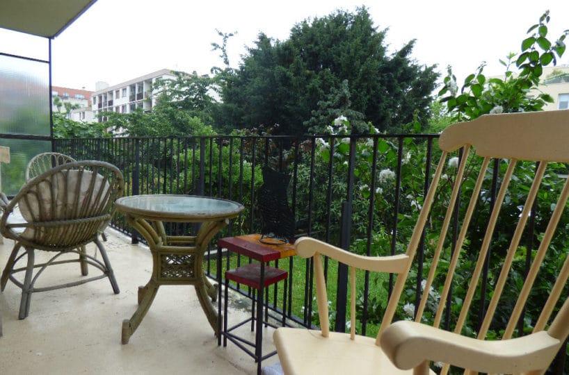 vente appartement 2 pieces alfortville: 2 pièces 49 m², balcon donnant sur cour