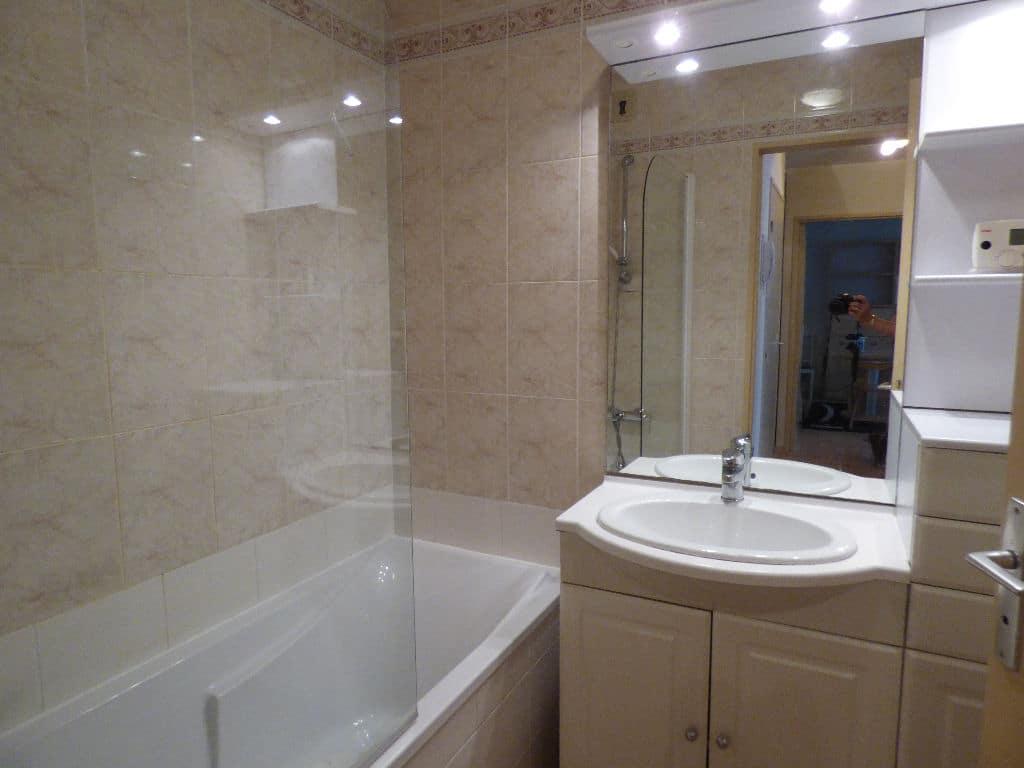 appartement charenton le pont: 2 pièces 46 m², salle de bain avec baignoire