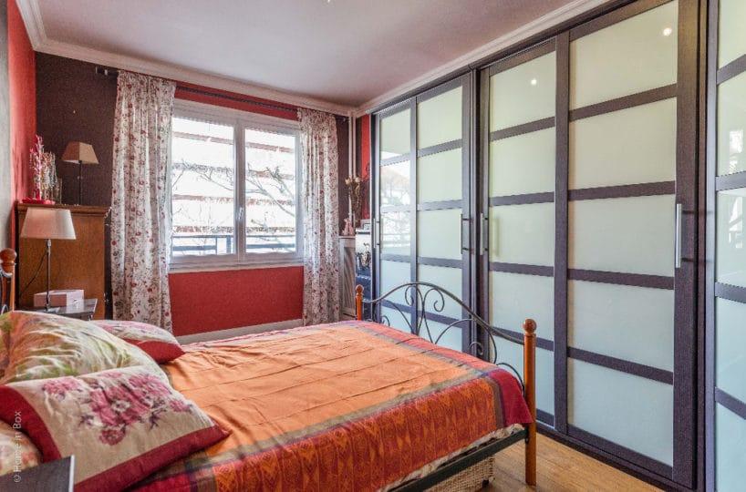 estimer appartement charenton: vente 2 pièces 49 m², grande chambre à coucher