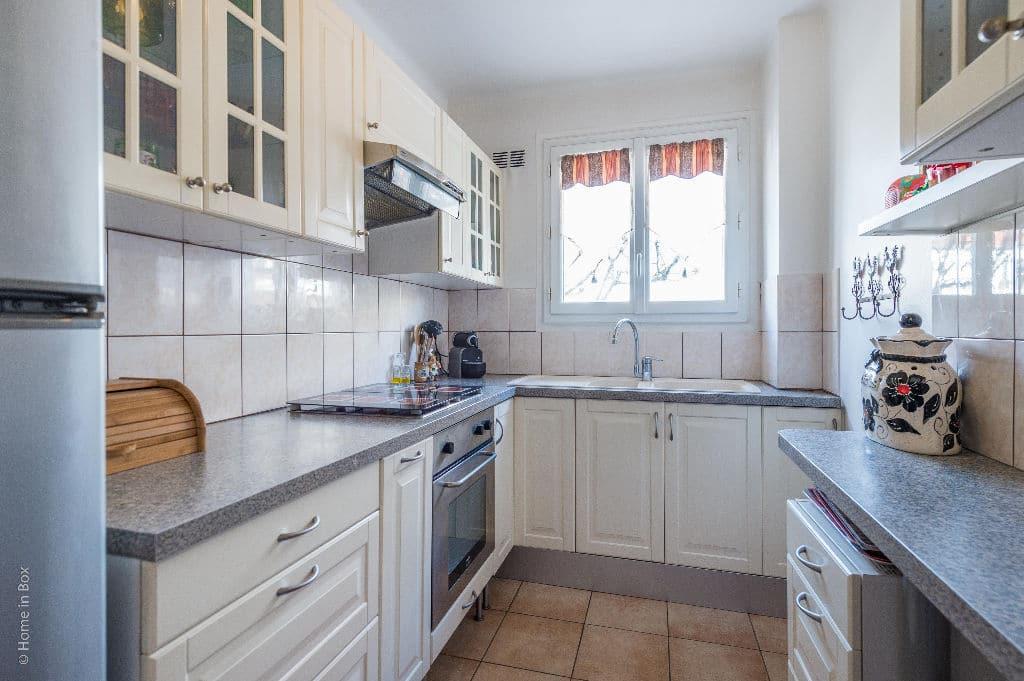 vendre appartement charenton: 2 pièces 49 m², cuisine aménagée, possibilité d'ouverture