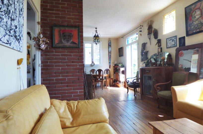 maison a vendre maison alfort: 6 pièces 130 m², salon/salle à manger
