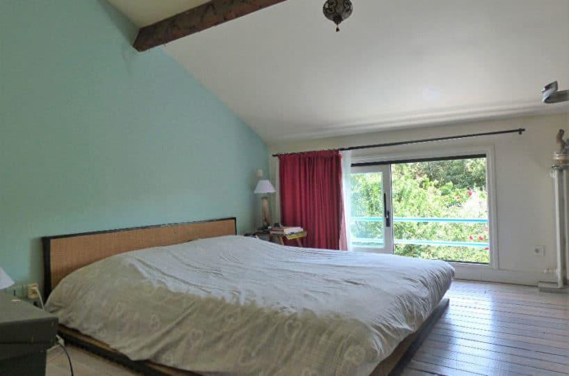 vente maison à maisons-alfort: 6 pièces 130 m², 1° chambre à coucher parentale mansardée