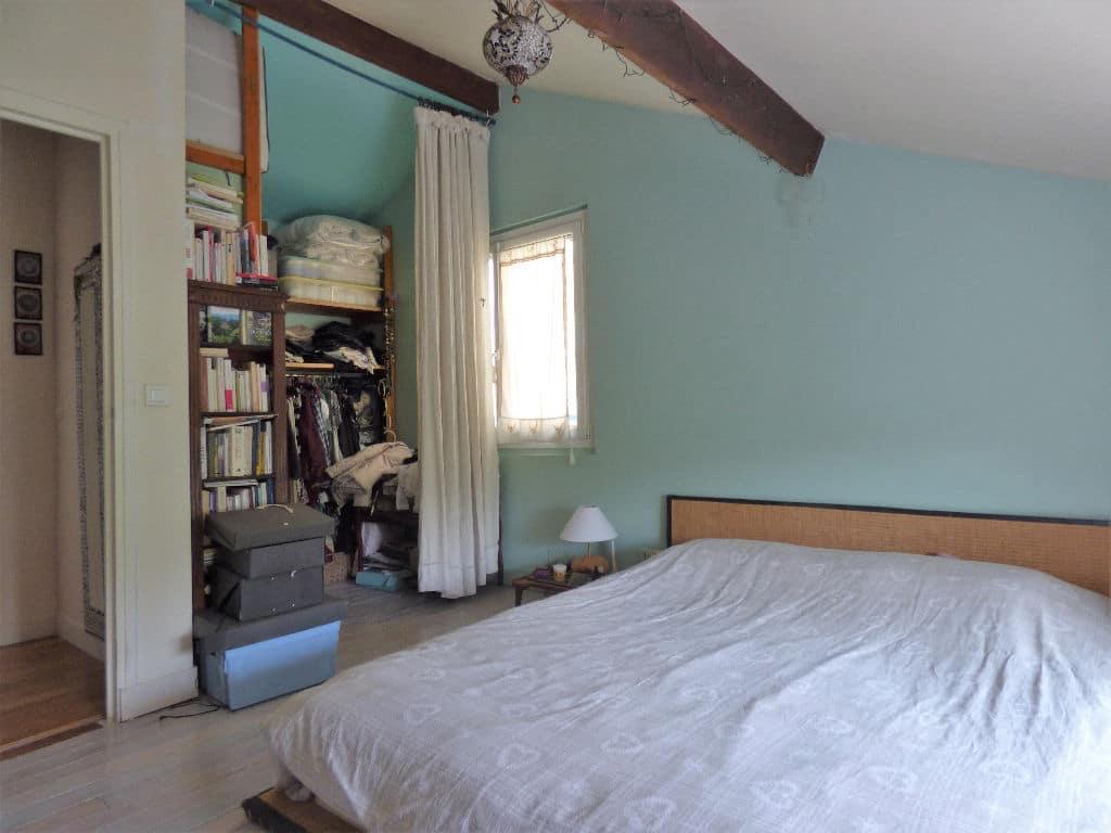 maison maisons alfort: 6 pièces 130 m², chambre à coucher avec coin penderie