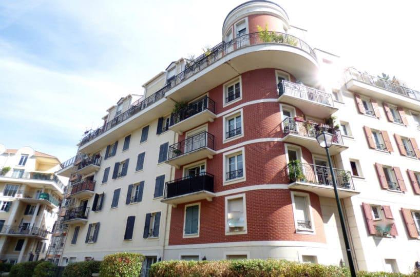 vente appartement alfortville: 3 pièces 56 m², cave et parking - secteur quai de seine
