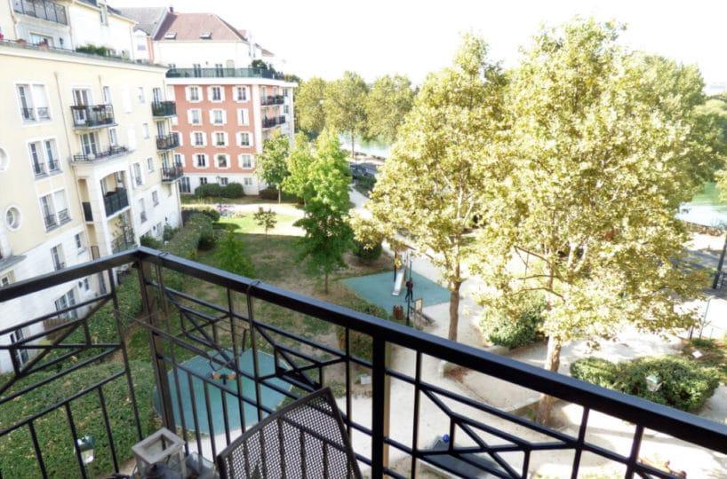 faire estimer appartement alfortville: 3 pièces 56 m², vue dégagée depuis le balcon