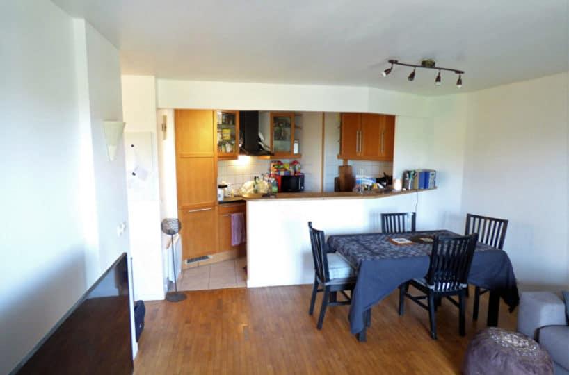 vendre appartement alfortville: 3 pièces 56 m², cuisine semi-ouverte sur le séjour