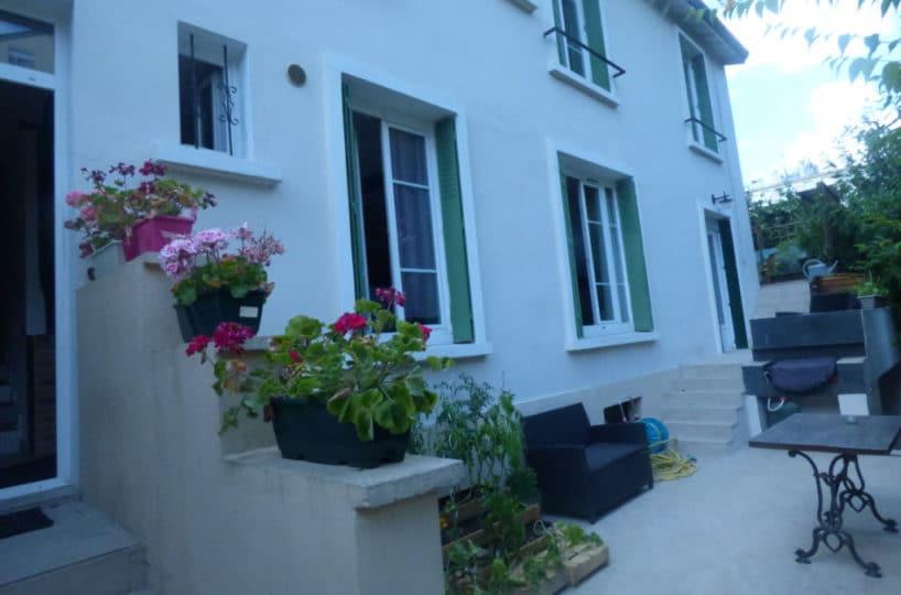 achat maison maisons alfort: 4 pièces 104 m² sur 2 niveaux en plein coeur du centre ville