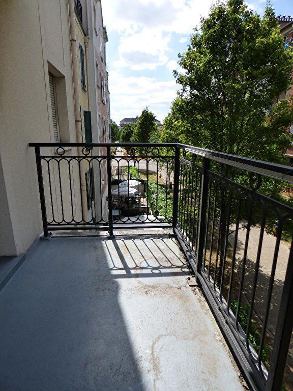 achat appartement alfortville: 2 pièces 40 m², aperçu du balcon vue dégagée