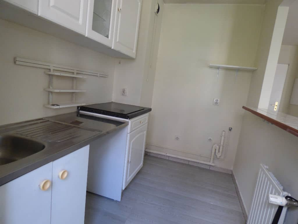 appartement a vendre alfortville: 2 pièces 40 m², cuisine semi ouverte avec des rangements