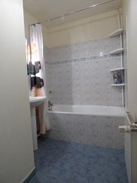 appartement à vendre à alfortville: 2 pièces 40 m², salle de bains avec baignoire et lavabo