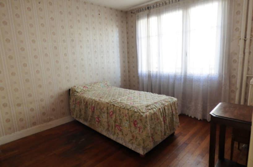vente appartement maison alfort: 3 pièces 60 m², 2° chambre à coucher lumineuse