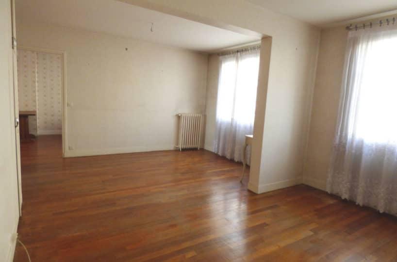 vente appartement maisons-alfort: 3 pièces 60 m², double séjour, parquet chêne massif