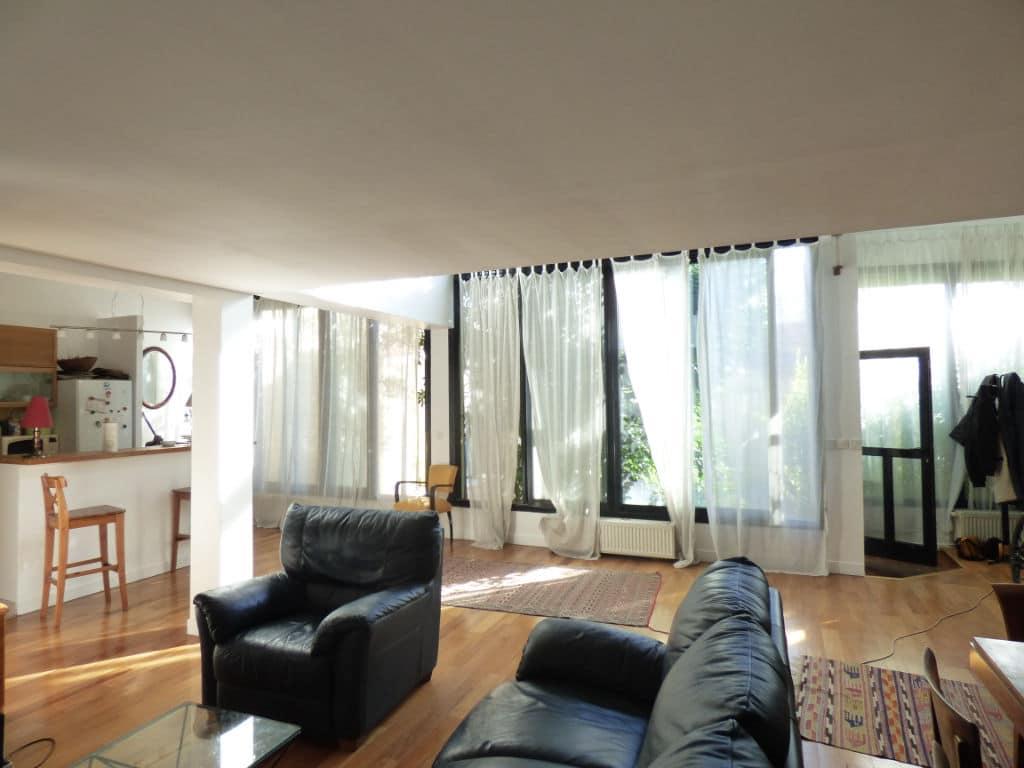 agence immo alfortville: 5 pièces 154 m², belle luminosité grandes baies vitrées