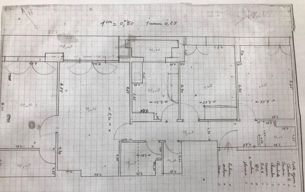 vendre appartement charenton: 4 pièces 64 m², plan complet du logement