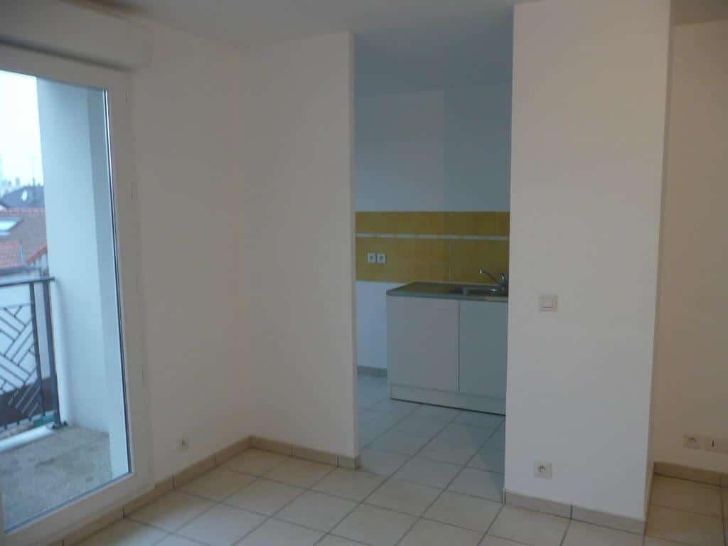 achat appartement alfortville: 3 pièces 61 m², séjour avec balcon, cuisine semi ouverte