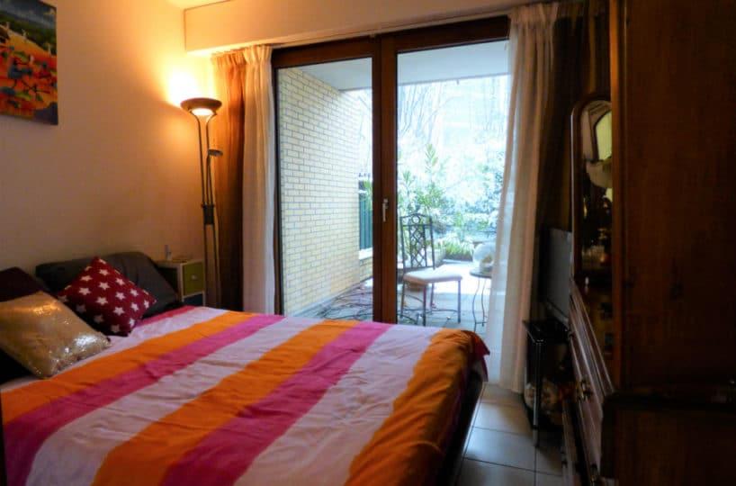 appartement à vendre à charenton le pont: 2 pièces 44 m², chambre double accès à la terrasse