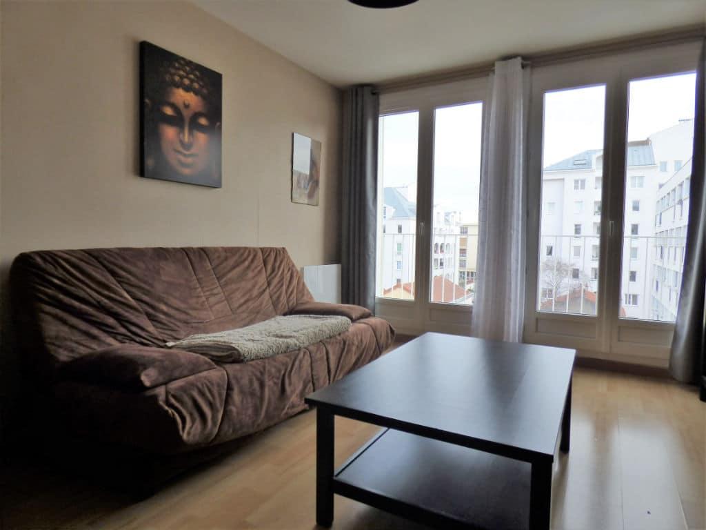 achat appartement alfortville: 2 pièces 42 m², salon très lumineux, fenêtres pvc double-vitrages
