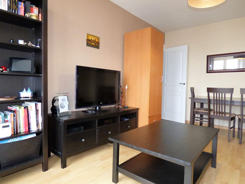 vente appartement 2 pieces alfortville: 2 pièces 42 m², pièce à vivre avec rangements