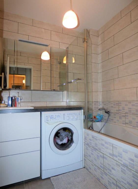 vendre appartement alfortville: 2 pièces 42 m², salle de bains avec baignoire et meuble vasque