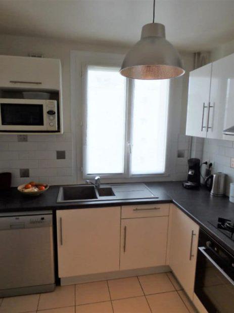 agence immo alfortville: 2 pièces 42 m², cuisine indépendante équipée et fonctionnelle