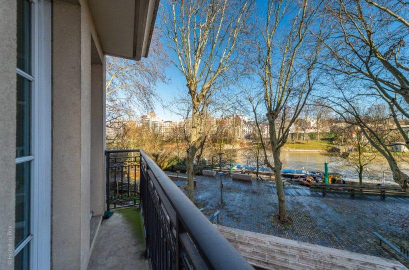 estimation appartement maisons-alfort: 3 pièces 68 m², balcon, vue imprenable sur la marne, proche métro