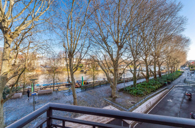 vente appartement maisons alfort: 3 pièces 68 m², vue imprenable sur la marne
