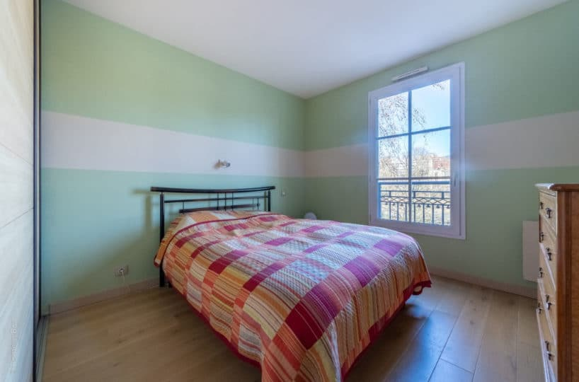 vente appartement maisons-alfort: 3 pièces 68 m², chambre à coucher, parquet au sol