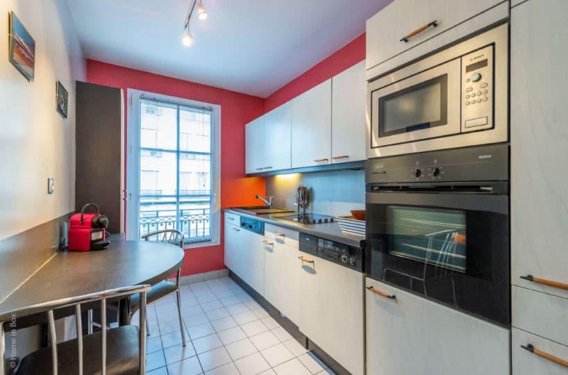 vente appartement maison alfort: 3 pièces 68 m², cuisine aménagée en très bon état