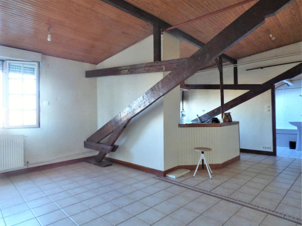 achat appartement maisons alfort: studio 30 m², cuisine ouverte sur pièce à vivre