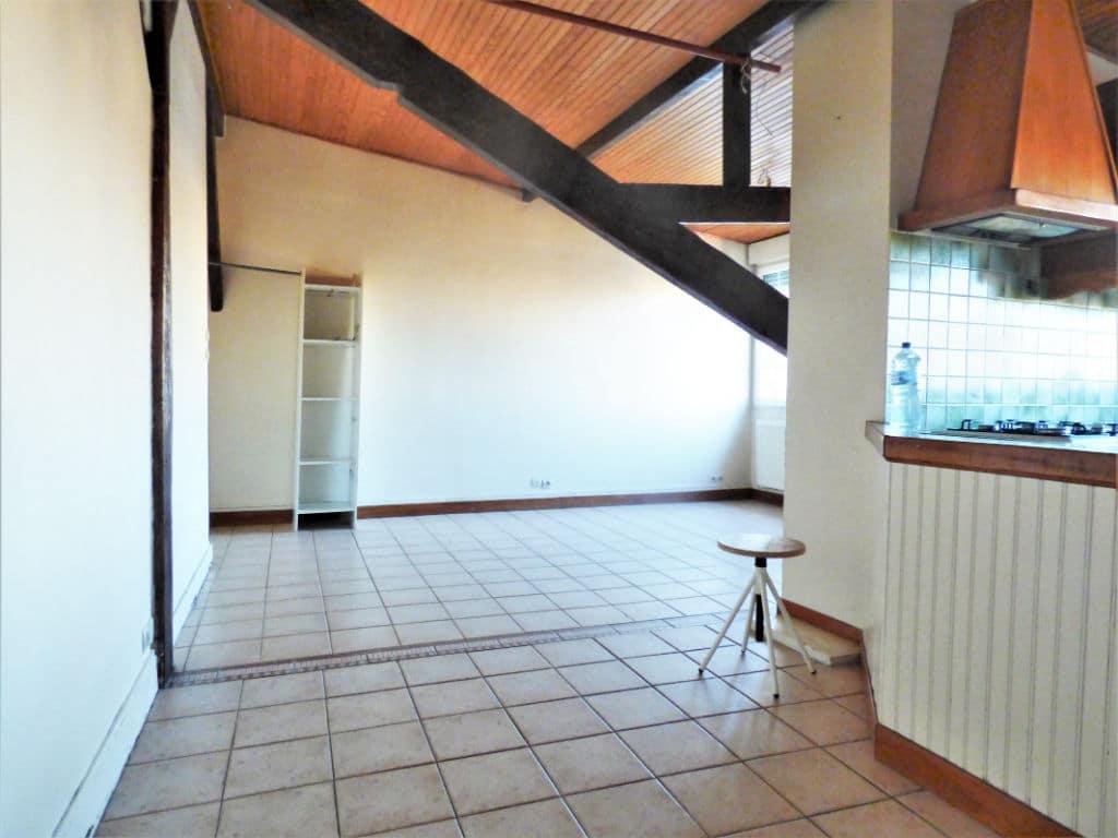 vente studio à maisons alfort: grand studio 30 m², belle pièce à vivre lumineuse