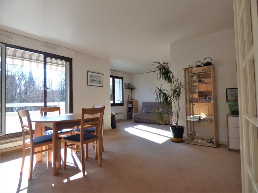 vente appartement maisons alfort: 4 pièces 85 m², grand salon / séjour avec accès balcon