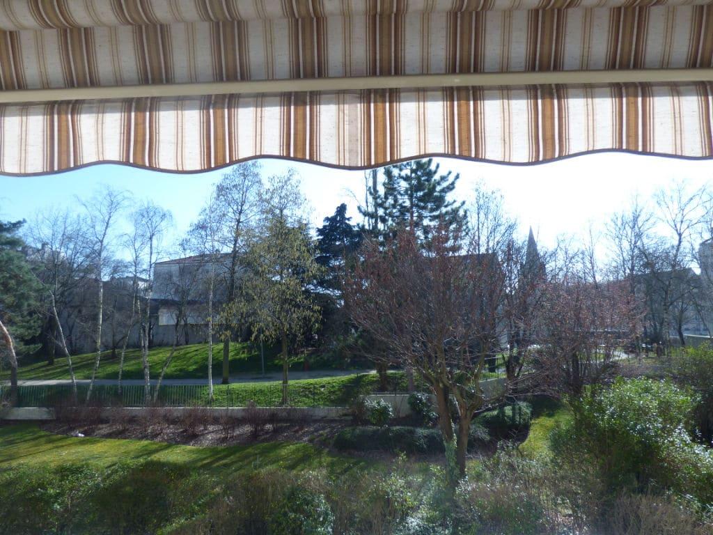 achat appartement maison alfort: 4 pièces 85 m², vue dégagée sur le parc depuis le balcon