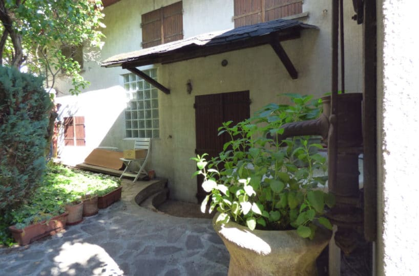 vente maison alfortville: 3 pièces 60 m² en petite copropriété en fond de cour, cheminée et jardin, secteur quartier des fleurs