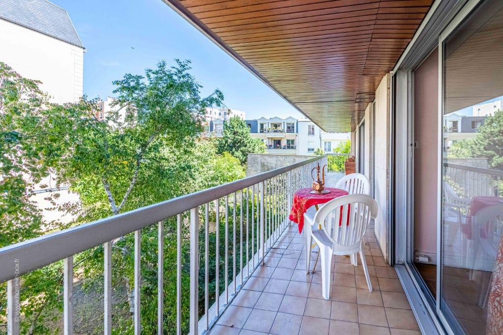 vendre appartement charenton: 5 pièces 100 m², belle terrasse avec vue dégagée