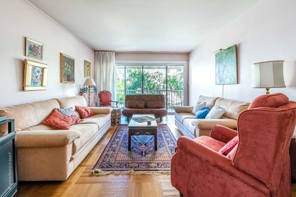 appartement charenton le pont: 5 pièces 100 m², belle pièce à vivre avec accès terrasse