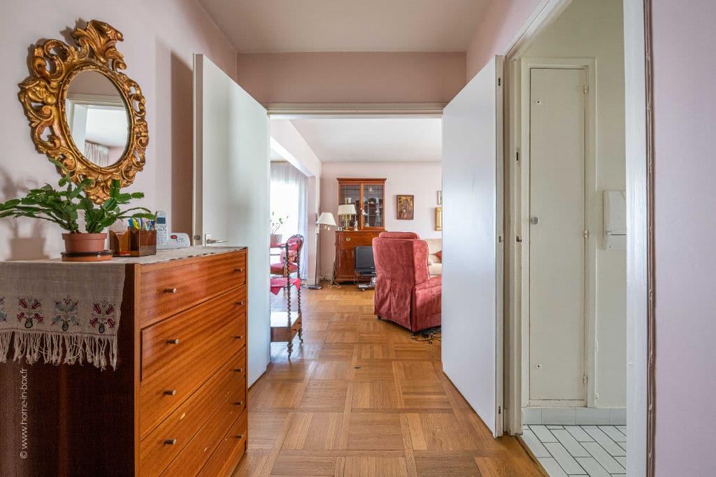 appartement à vendre charenton: 5 pièces 100 m², couloir qui desserent les autres pièces