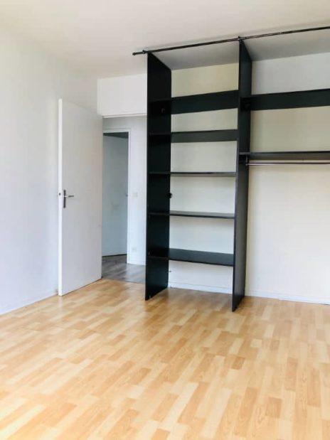 estimer appartement charenton: 3 pièces 71 m², première chambre avec rangements