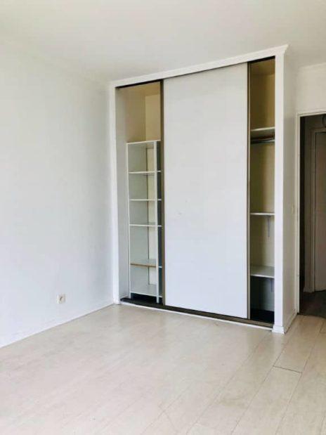 appartement à vendre à charenton-le-pont: 3 pièces 71 m², deuxième chambre avec dressing