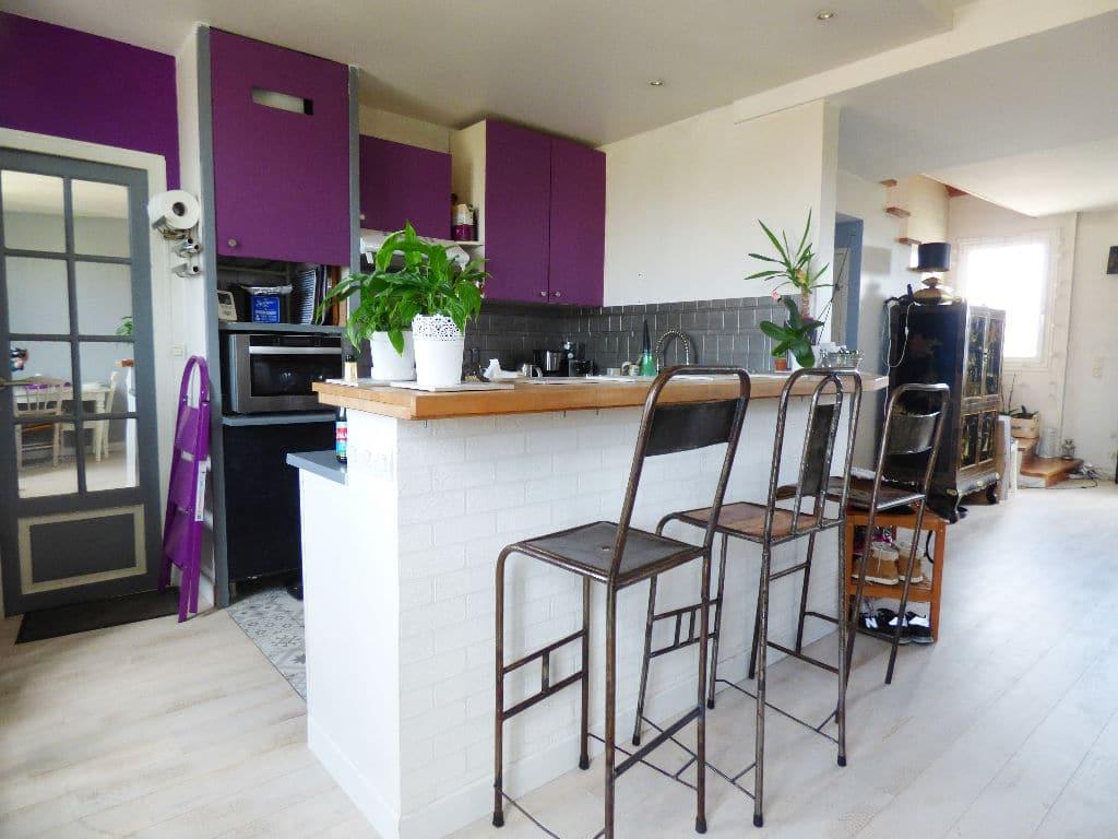vente appartement maisons alfort: 4 pièces 148 m², cuisine américaine ouverte sur le séjour