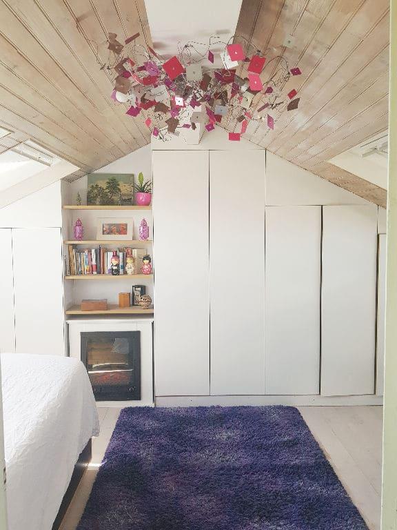achat appartement maison alfort: 4 pièces 148 m², première chambre double avec cheminée