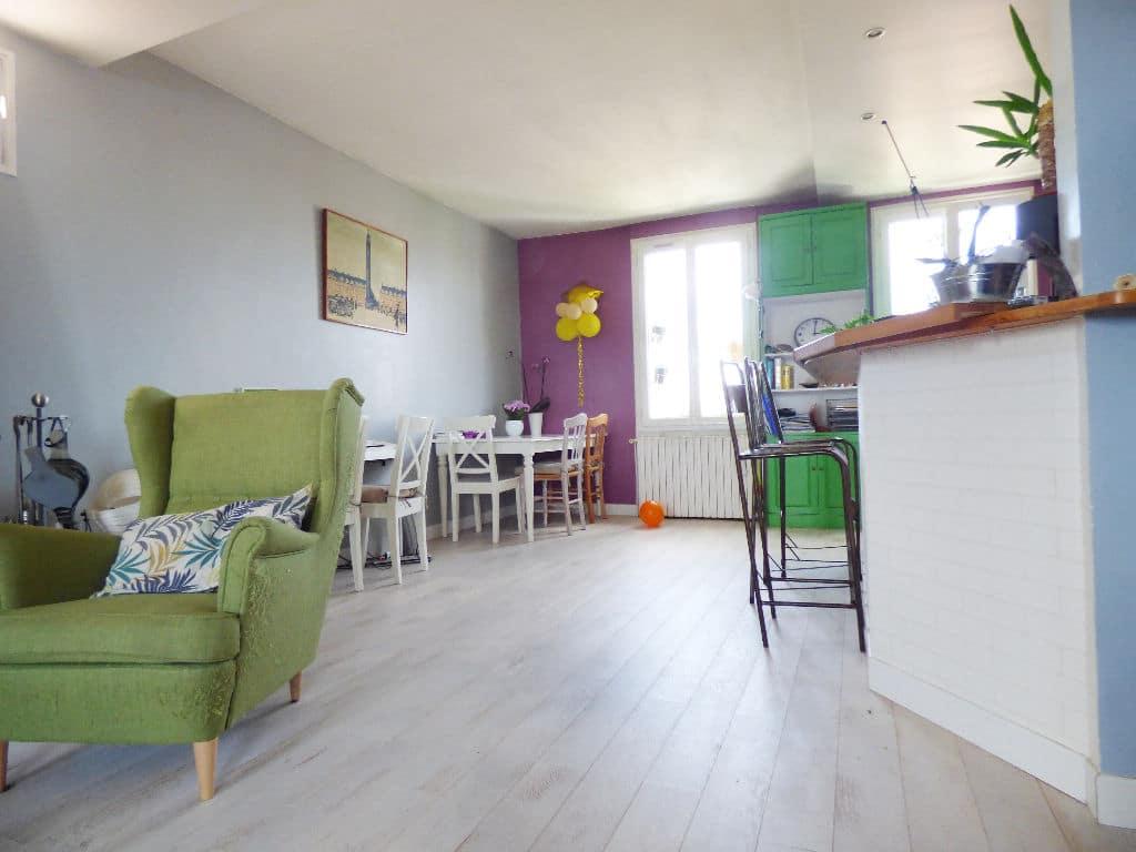 vente appartement maisons-alfort: 4 pièces 148 m², salon / séjour lumineux