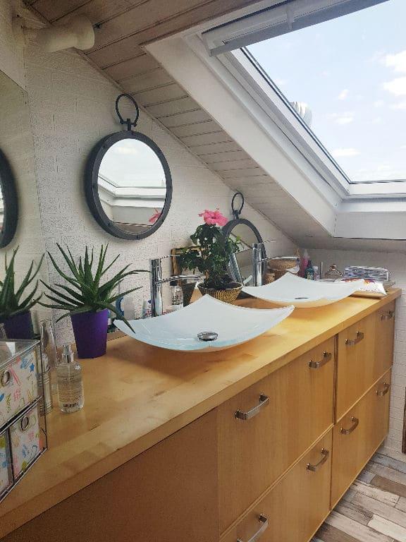 vente appartement maison alfort: 4 pièces 148 m², salle de bains avec double vasques