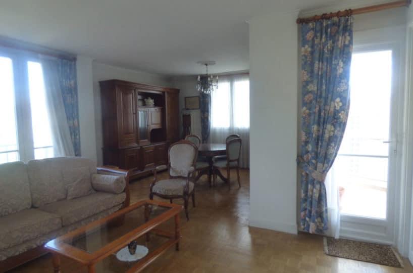 estimation appartement maisons-alfort: 3 pièces 74 m², salon / séjour lumineux accès terrasse et balcon