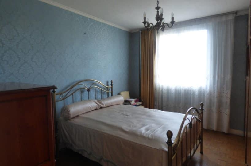 vente appartement maison alfort: 3 pièces 74 m², deuxième chambre double avec rangements